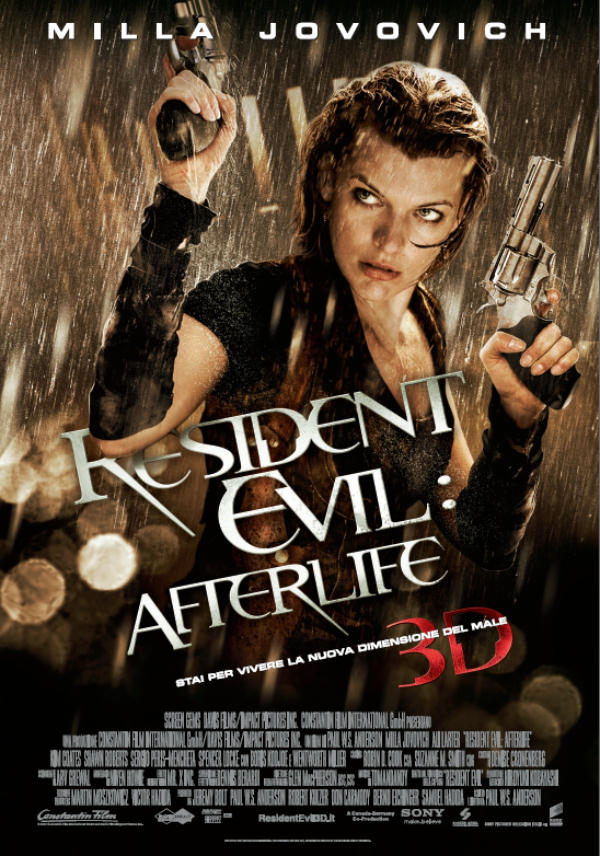 Locandina di: Resident Evil: Afterlife