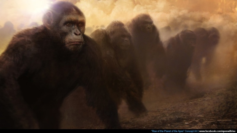 Rise of the Planet of the Apes: Concept art