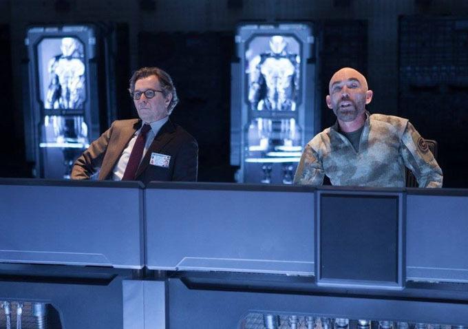 RoboCop: Gary Oldman e Jackie Earle Healey
