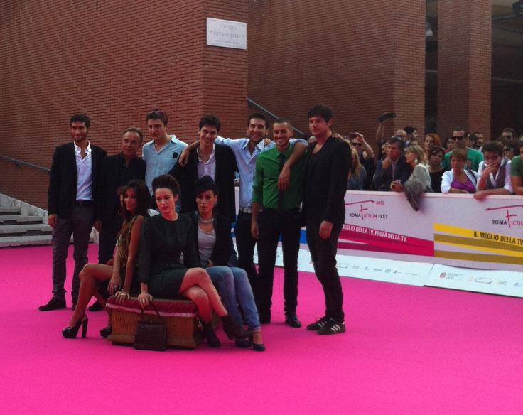 Roles: il cast sul carpet del Roma Fiction Fest
