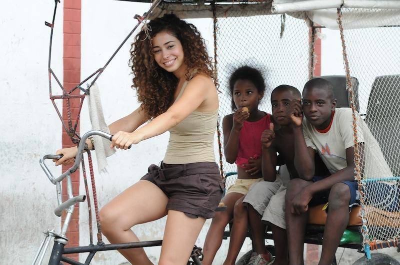 Foto dal set di Faccio un salto all'Avana