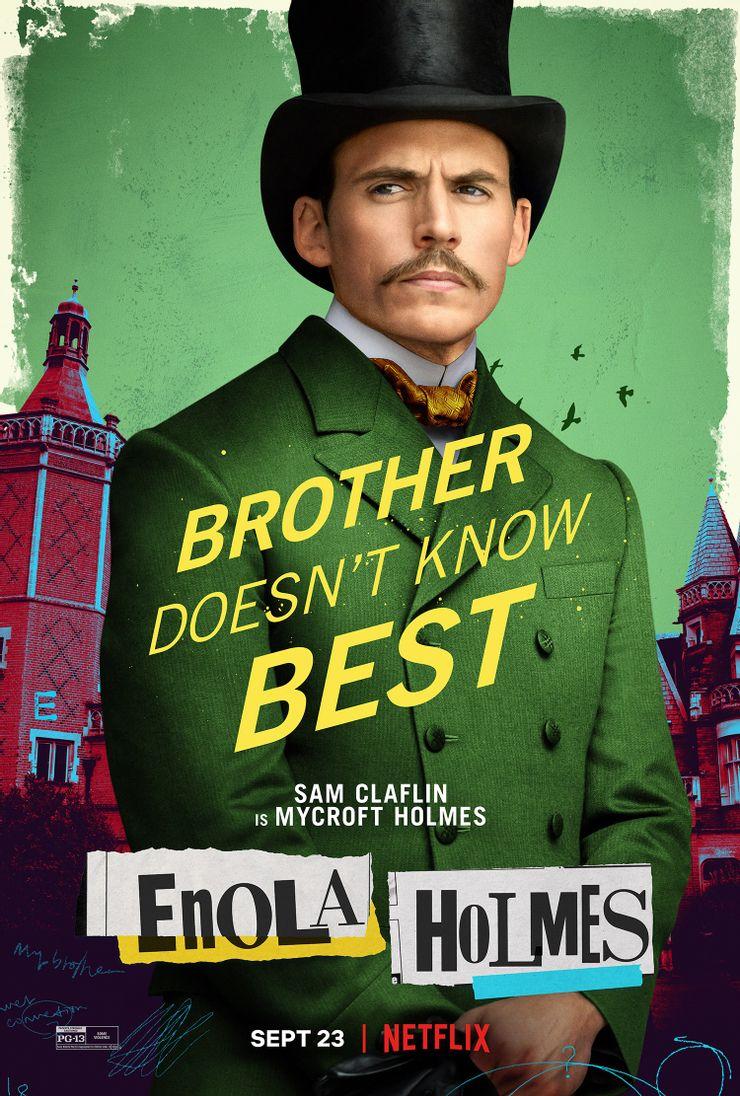 Enola Holmes: Sam Claflin