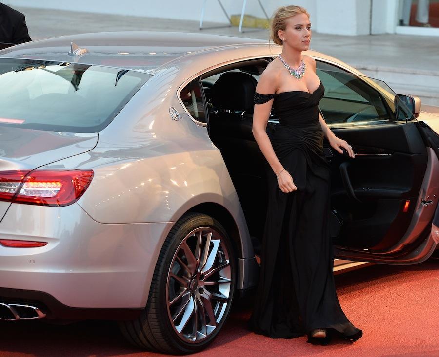 Scarlett Johansson alla Terrazza Maserati - Venezia70