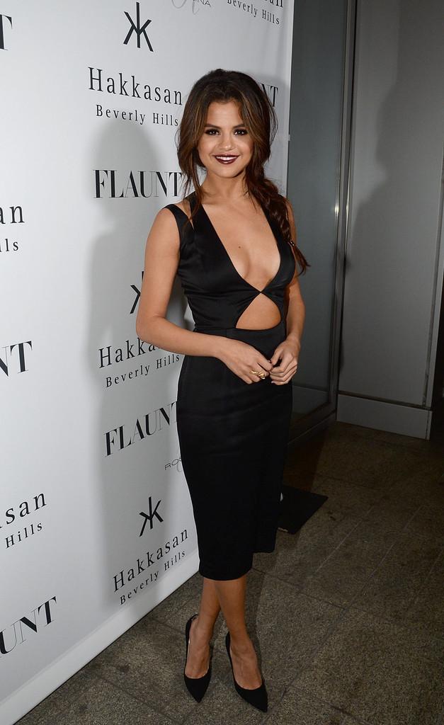 Selena Gomez sexy al party di Flaunt