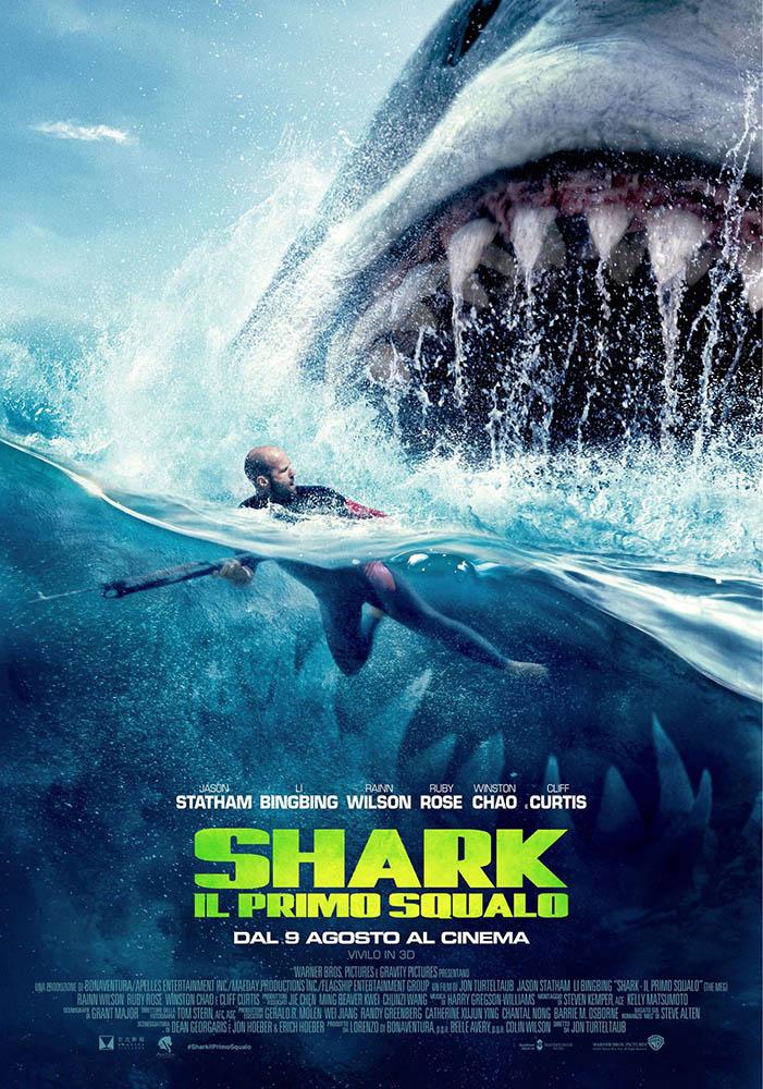 Shark - Il Primo Squalo: Locandina