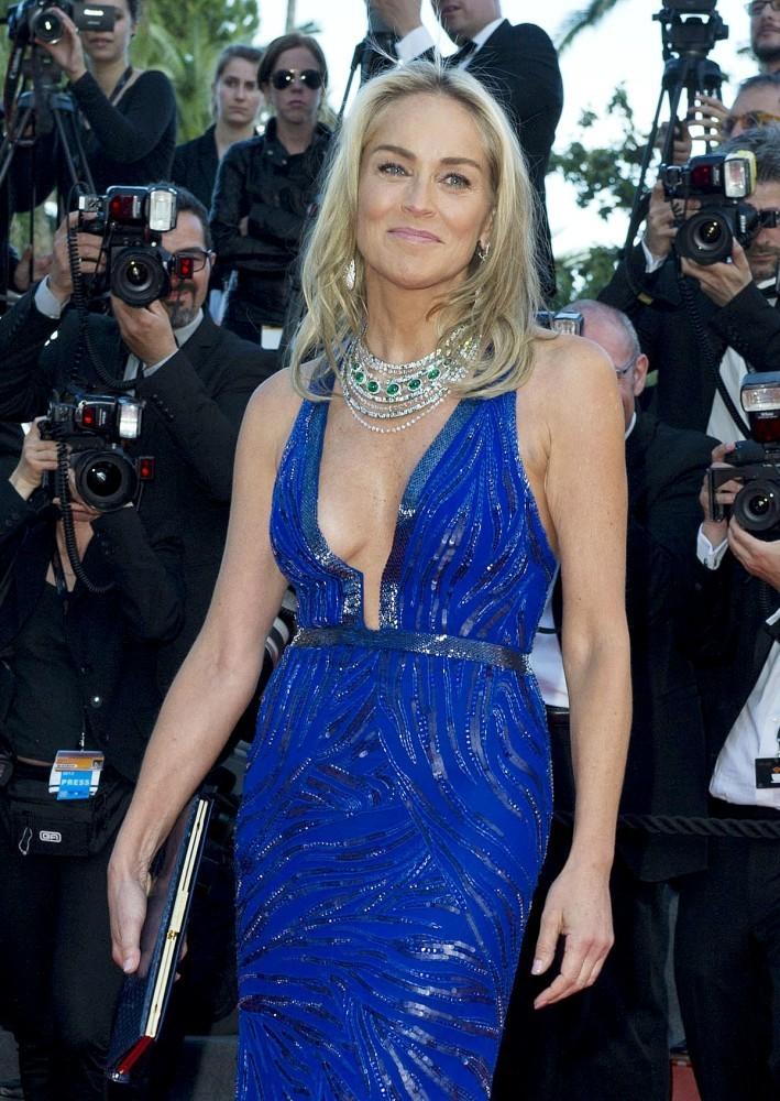 Sharon Stone - Cannes 2013