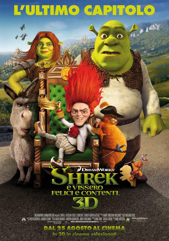 Locandina di: Shrek e Vissero Felici e Contenti