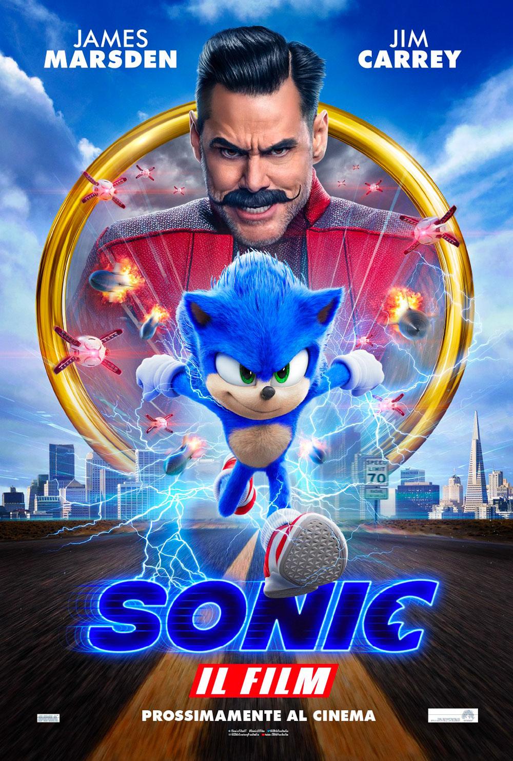 Locandina di Sonic - Il Film