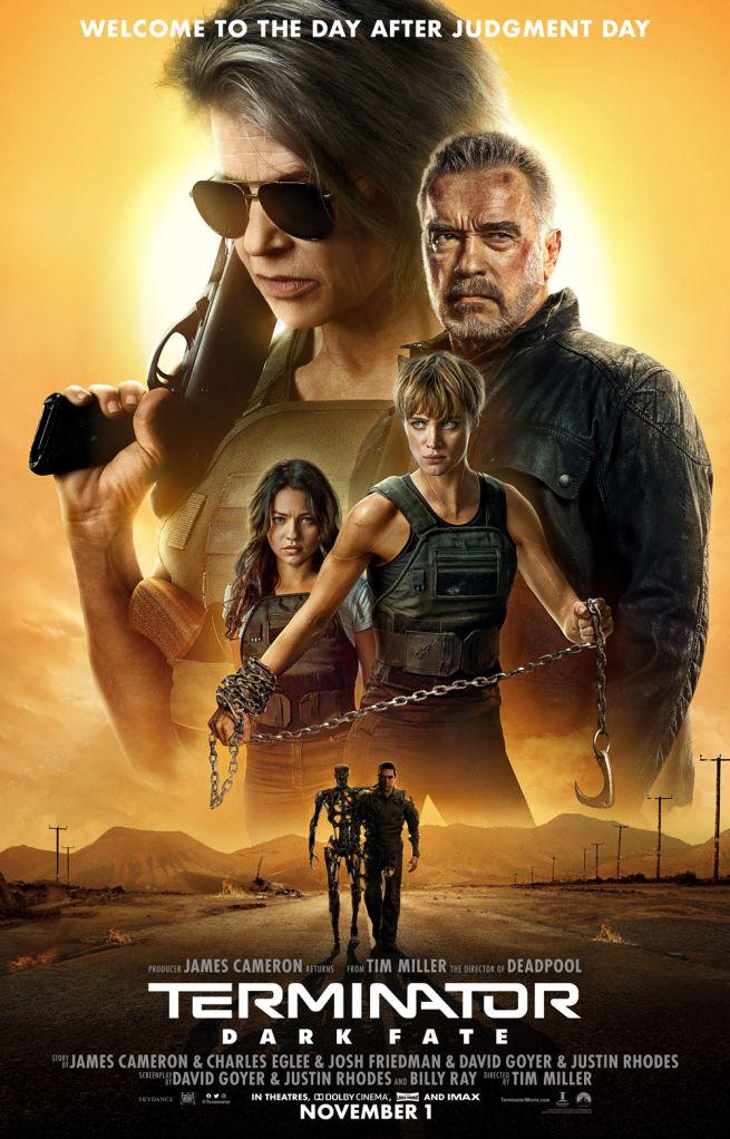 Locandina di Terminator: Destino oscuro