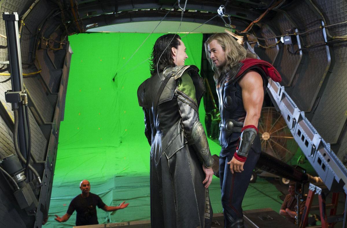 The Avengers: The Avengers: Nuove Foto Dal Backstage Dei Vendicatori