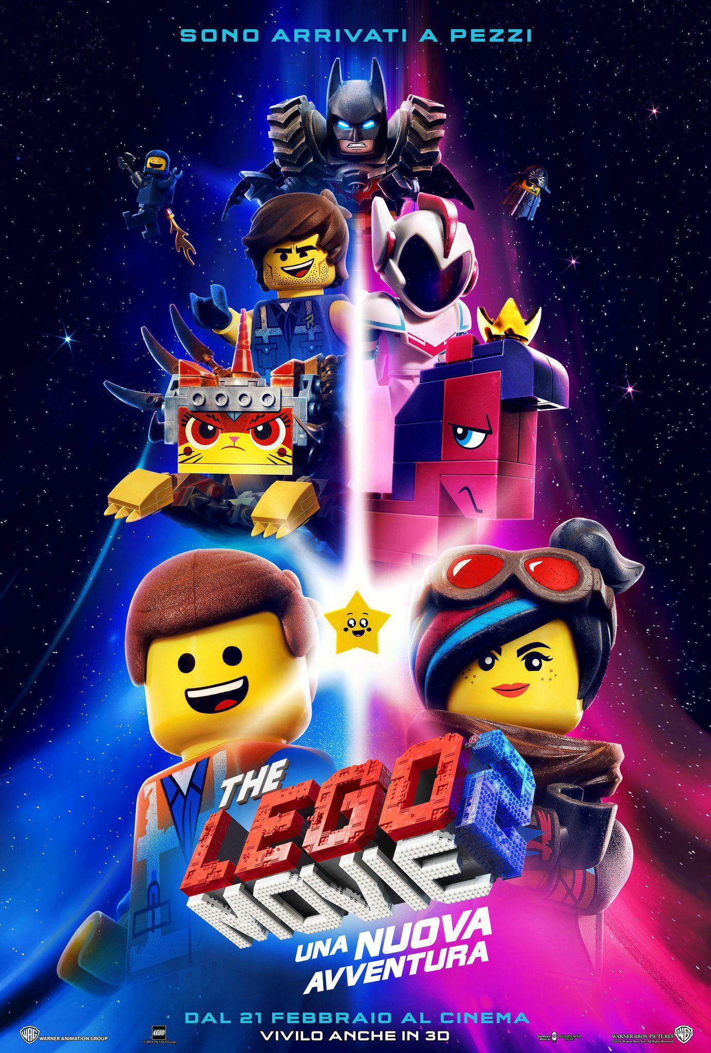 Locandina di The LEGO Movie 2: Una nuova avventura