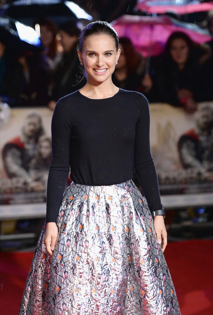 Thor: The Dark World, red carpet - Natalie Portman