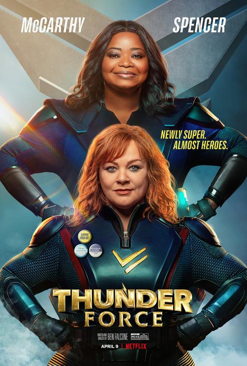 Thunder Force: Locandina