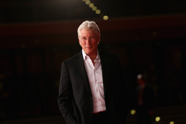 Richard Gere sul tappeto rosso di Time Out Of Mind
