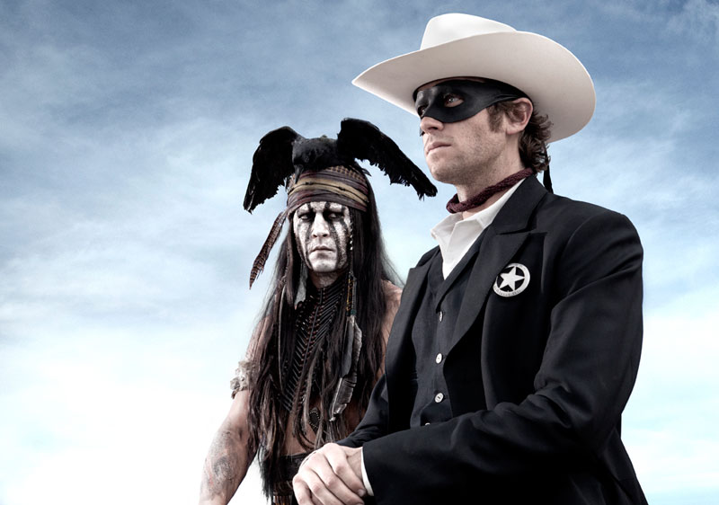 Prima foto di Johnny Depp e Armie Hammer in The Lone Ranger