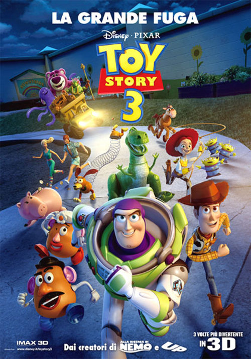 Locandina di: Toy Story 3 - La grande fuga