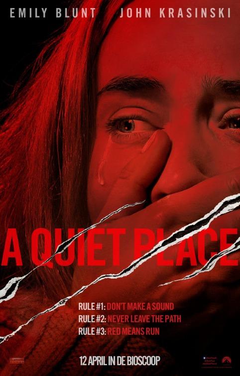 A Quiet Place - Un Posto Tranquillo: locandina internazionale