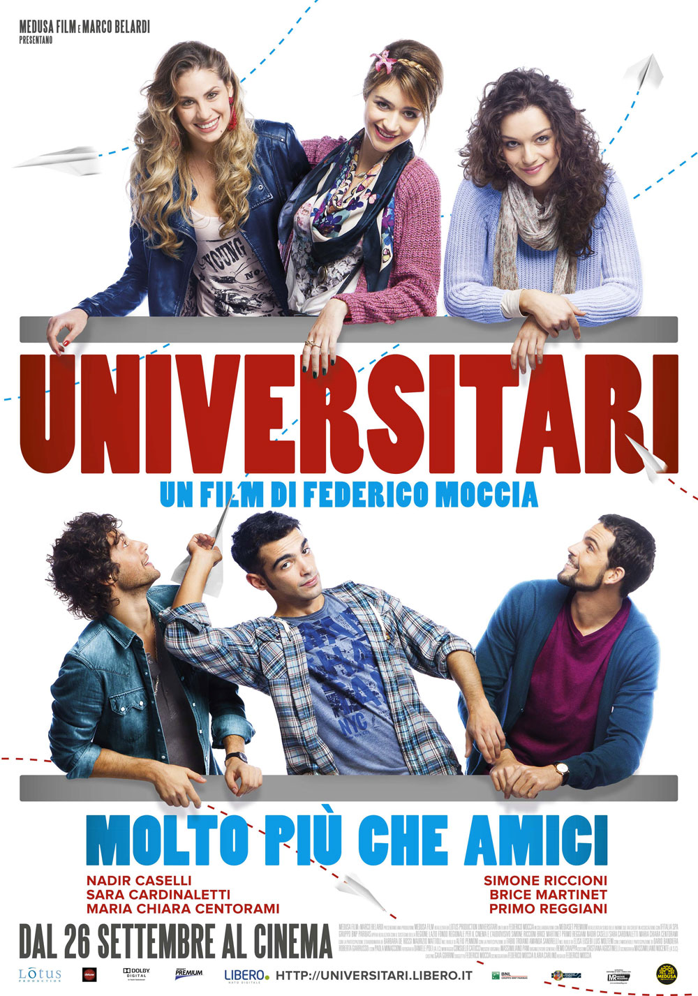 Universitari Molto Pi Che Amici Il Poster Del Nuovo