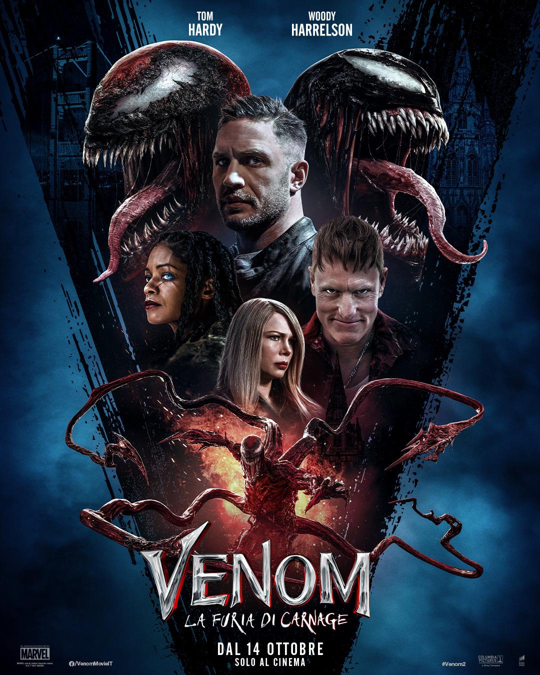 Venom: La Furia di Carnage: il nuovo poster ufficiale