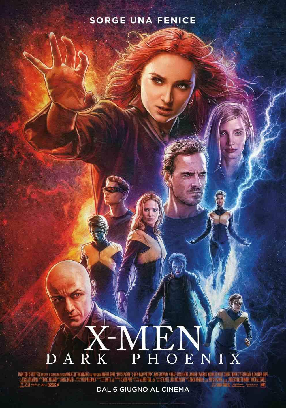 Locandina di X-Men: Dark Phoenix