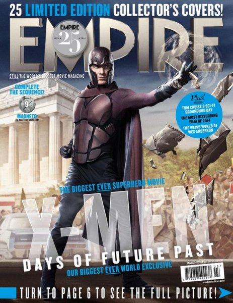 X-Men: Giorni di un Futuro Passato, la cover di Magneto