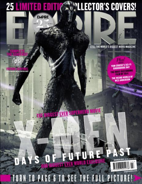 X-Men: Giorni di un Futuro Passato, la cover della Sentinella del Futuro