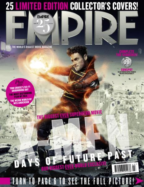 X-Men: Giorni di un Futuro Passato, la cover di Sunspot