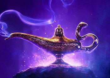 Aladdin: la clip Gigi Proietti interpreta il Sultano di Agrabah
