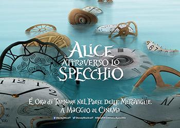 Alice attraverso lo specchio la scena il regalo per la - Film alice attraverso lo specchio ...
