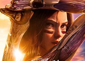 Alita: Angelo della Battaglia torna nei cinema americani: ecco il poster