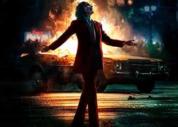 Joker: le fiamme protagoniste del nuovo Imax Poster