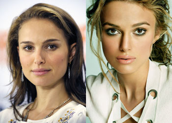 Natalie Portman vs. Keira Knightley - Notizie sul Cinema ...