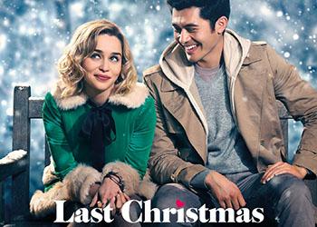 Emilia Clarke ed Henry Golding nel poster di Last Christmas