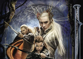 Lo Hobbit: La Desolazione di Smaug, una clip del making of con Benedict Cumberbatch