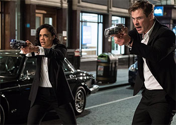 Men in Black: International: ecco una clip piena di scherzi