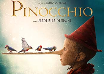 Pinocchio: online la scena Ti sta crescendo il naso