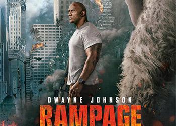 Rampage - Furia Animale: la nuova locandina internazionale