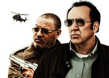 Running with the Devil: il poster del film con Nicolas Cage e Laurence Fishburne