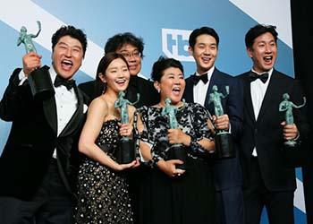SAG Awards: Parasite per il cinema e The Crown per la tv premiati per il miglior cast