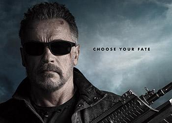 Terminator: Destino Oscuro: Arnold Schwarzenegger al centro del nuovo poster