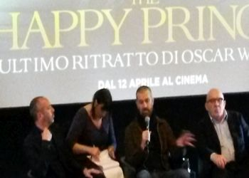 Rupert Everett a Roma per presentare The Happy Prince – Lultimo ritratto di Oscar Wilde