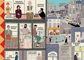 The French Dispatch: il video della colonna sonora del film