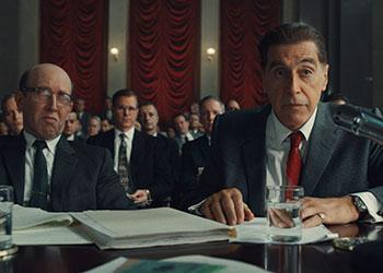 The Irishman: una nuova foto di Al Pacino