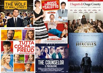 Film al Cinema: I Top e Flop di Gennaio 2014