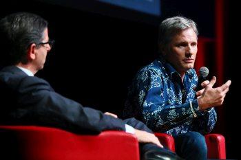 Viggo Mortensen incontra il pubblico alla Festa del Cinema di Roma